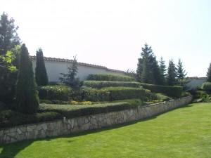 косене на трева и подрязване на храсти