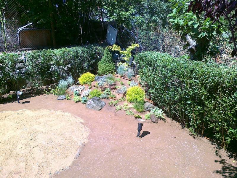 Растителност и градинско осветление