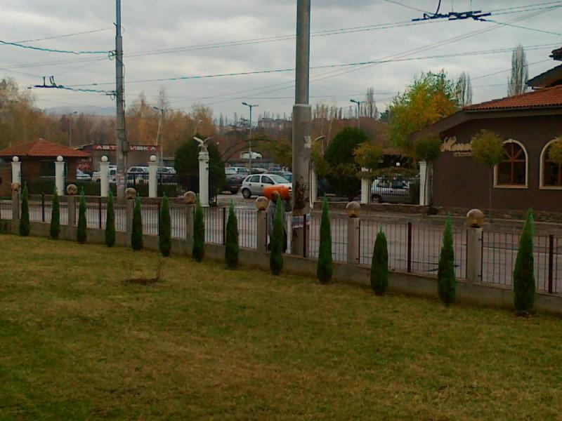 Подготовка на двор за зимния сезон в Перник