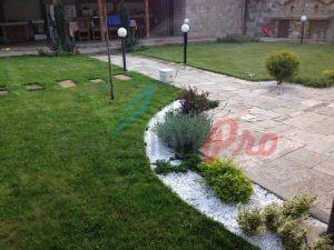 Поливна система, райграс и озеленяване на частен двор