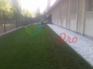 Поддръжка на зелени площи в посолство