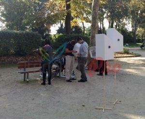 Проект на ландш. арх. Мария Петкова на Биеналето във Венеция