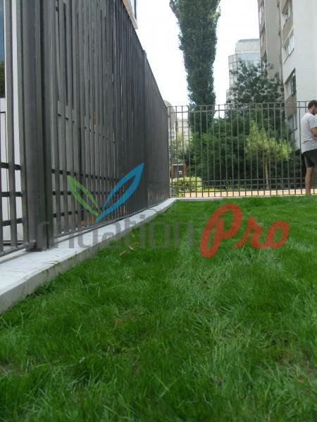 заравняване и затревяване с тревно семе